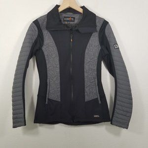 Kerrits Zip Up/Down Stretch Panel Riding Jacket
